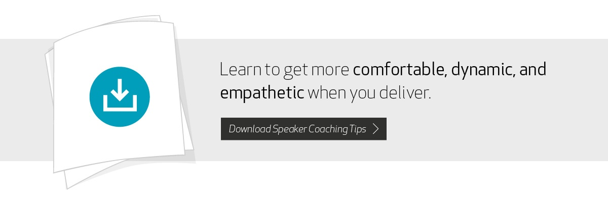 Learn to get more comfortable, dynamic, and empathetic when you deliver
