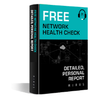 Download an concise example Network Health Check from Mirus IT