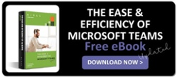 The Ease and Efficiency of MS Teams free eBook