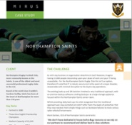 Northampton Saints Managed IT Case Study - Mirus IT