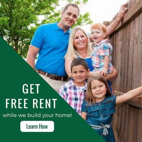 Get Free Rent While We Build Your Home