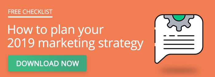 How to plan your 2019 marketing strategy