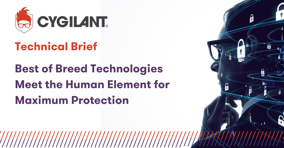 Cygilant Technical Brief Best of Breed Technologies Meet the Human Element for Maximum Protection