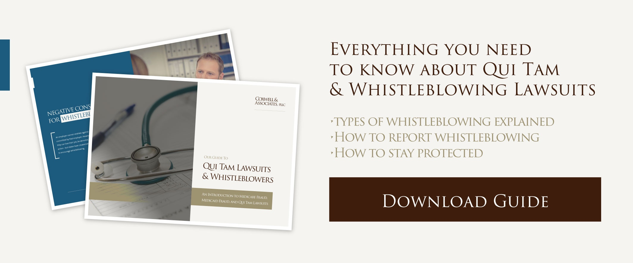 Download our Whistleblower eBook