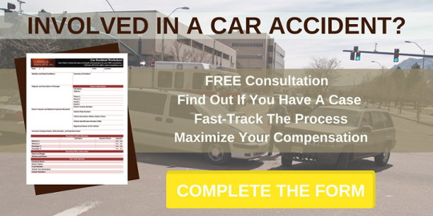 Complete This Form To Find Out If You Can File A Car Accident Claim