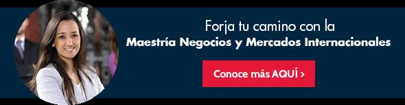 Maestría en Negocios y Mercados Internacionales