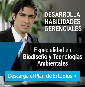 UP - Ingeniería - Plan de estudio - ESPECIALIDAD EN BIODISEÑO Y TECNOLOGÍAS AMBIENTALES
