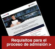 descarga requisitos de admisión - UP