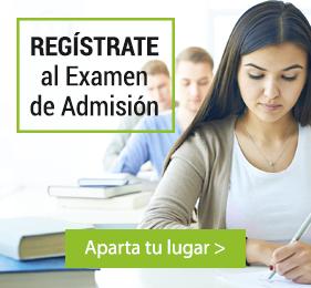 Regístrate para el Examen de Admisión - Próximo inicio Junio 2016
