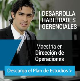 UP - Ingeniería - Plan de estudio - MAESTRÍA EN DIRECCIÓN DE OPERACIONES