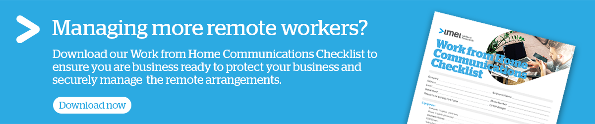 Work from Home Communications Checklist