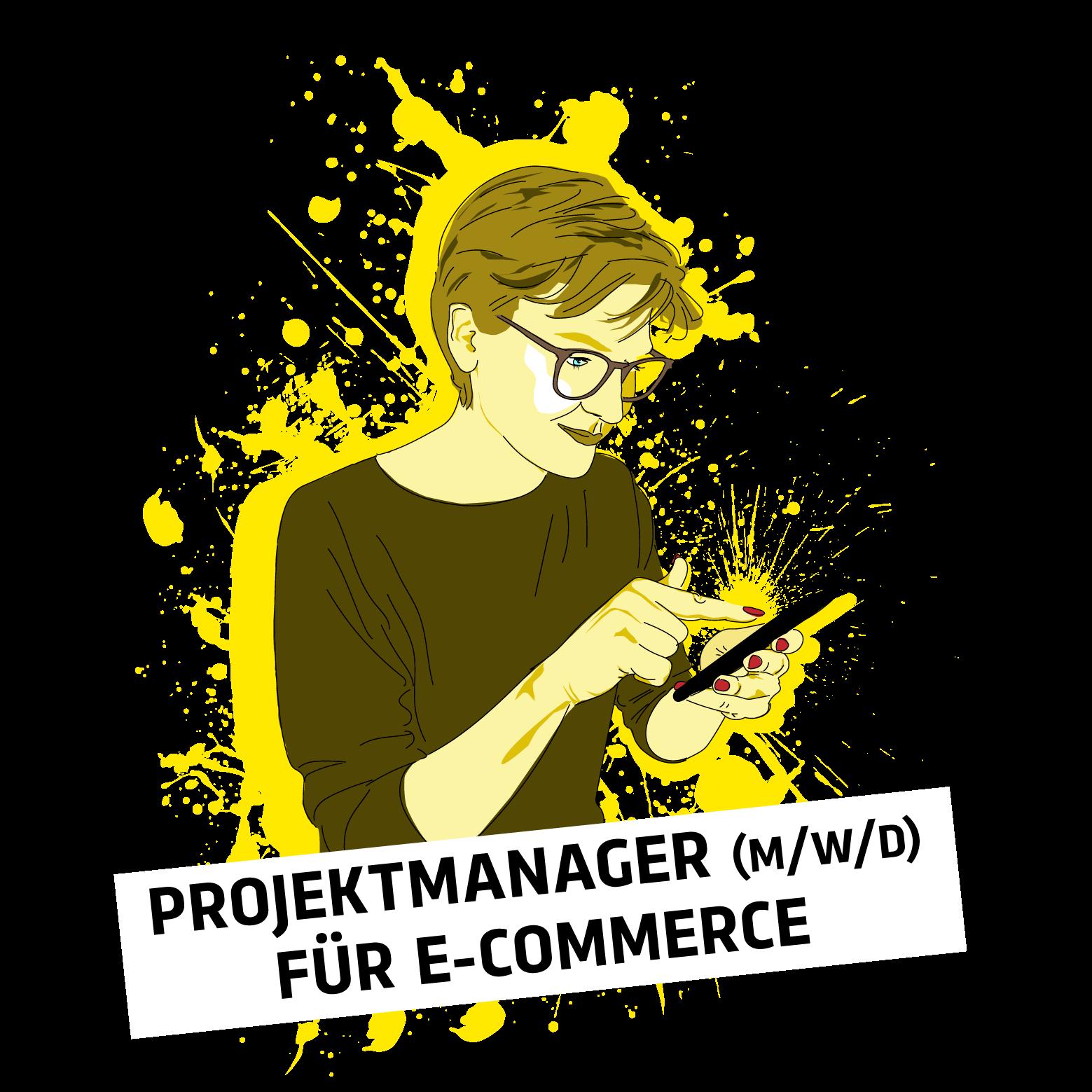 Blackbit Stellenanzeige Projektmanagement für E-Commerce