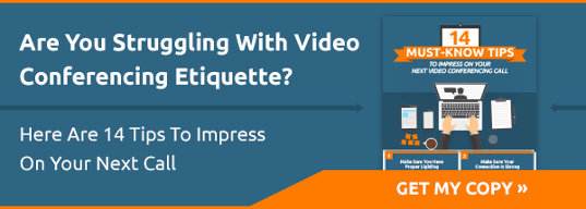 14 Must Know Tips To Impress On Your Next Video Call Infographic