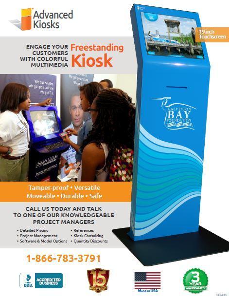FreeStanding Interactive Kiosk Brochure
