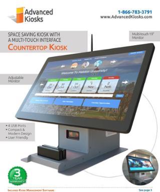 Countertop Computer Kiosk Brochure