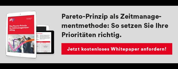Whitepaper Pareto-Prinzip Zeitmanagement PDF Download