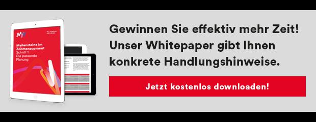 Whitepaper Zeitmanagement Zeitplanung PDF Download