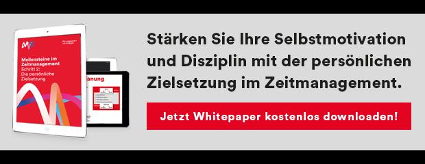 Whitepaper Zielsetzung Zeitmanagement PDF Download