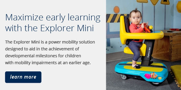 maximize early learning with the Explorer Mini