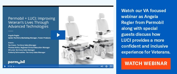 Watch the Permobil and LUCI webinar