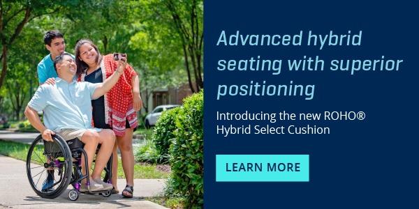 ROHO Hybrid Select