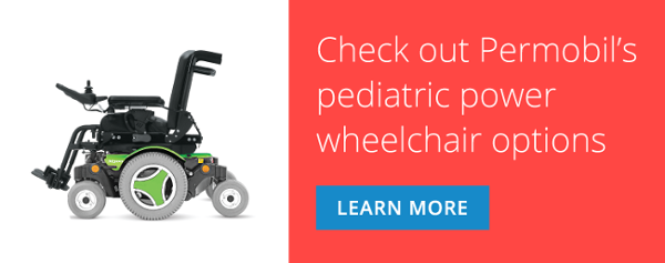Check out Permobil's pediatric power wheelchair options