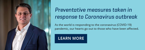Preventative measures taken in response to coronavirus outbreak