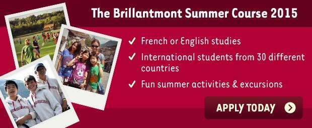 Summer Course 2015 in Switzerland