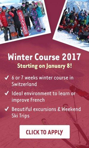 Winter Course in Switzerland 2017