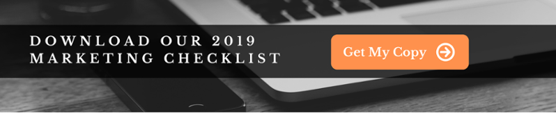 Download our 2019 marketing checklist