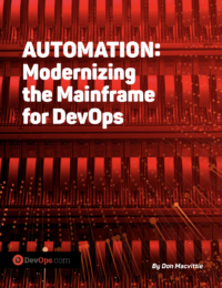 Automation: Modernizing the Mainframe for DevOps