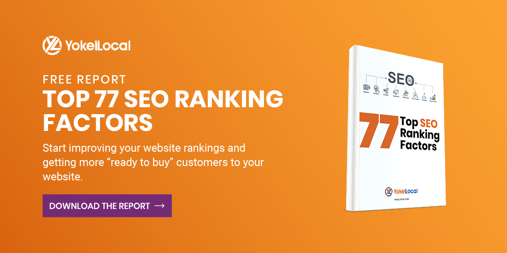 download free top 77 SEO ranking factors report