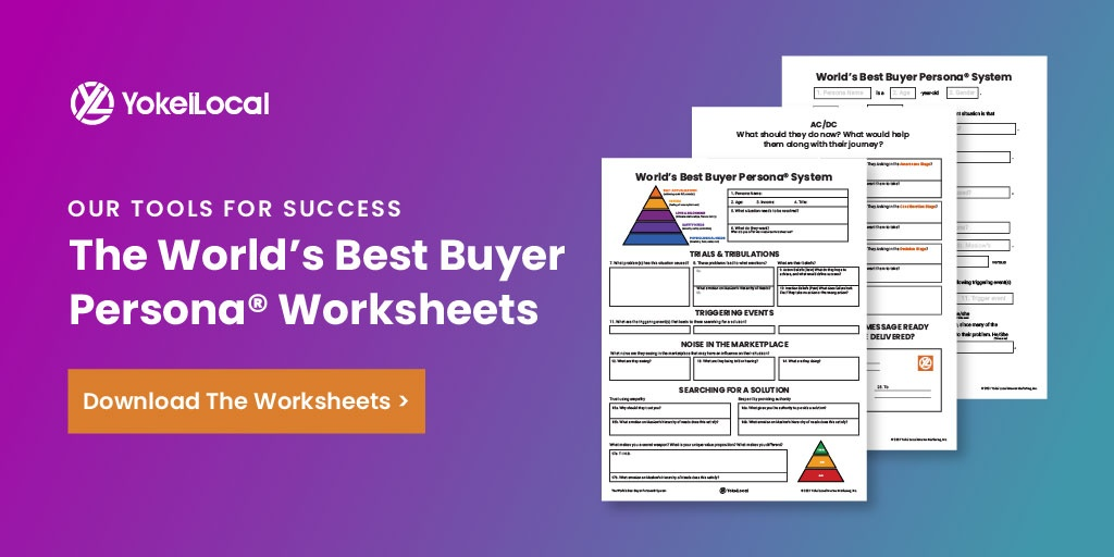 World's Best Buyer Persona Worksheet CTA