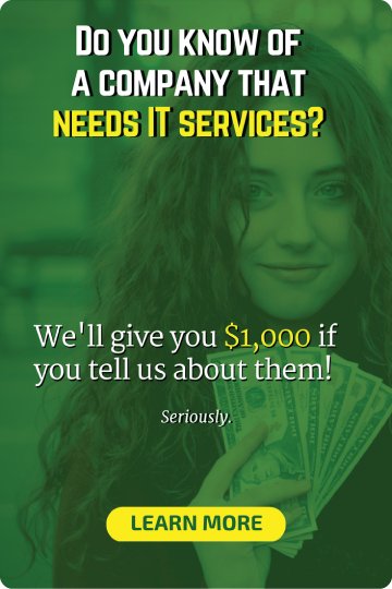 Refer a Company earn $1000