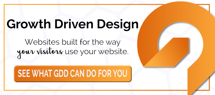 Growth Driven Design Websites
