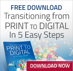 Free download transitioning from print to digital in 5 easy steps