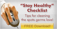 Workplace Cleaning Stay Healthy Checklist