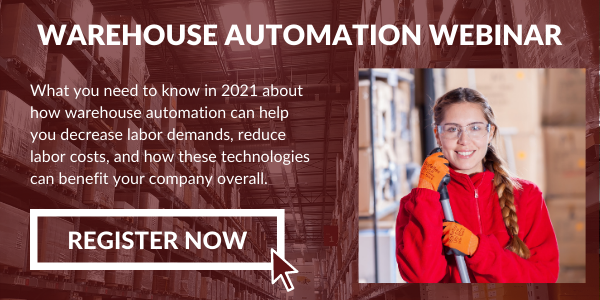 Join F. Curtis Barry and BoxLogix Automation warehouse automation webinar