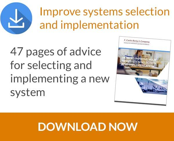 Download our guide to improve systems selection and implementation