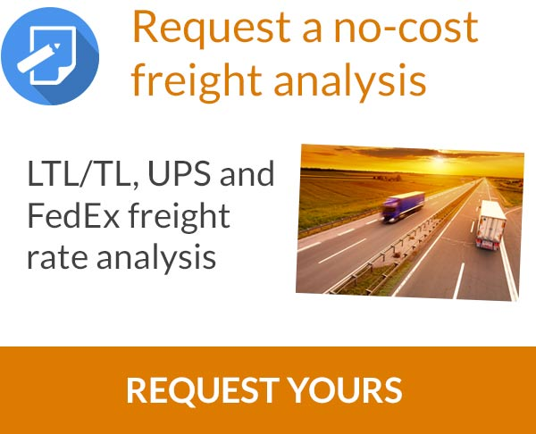 Request a No-Cost Freight Rate Analysis
