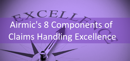 Airmic's 8 Components of Claims Handling Excellence