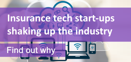 Insurance tech start-ups shaking up the industry