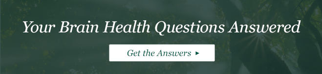 Brain health questions answered