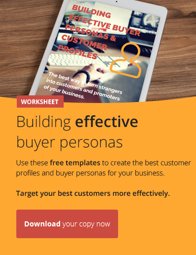 Build brilliant customer profiles and buyer personas with our handy worksheet