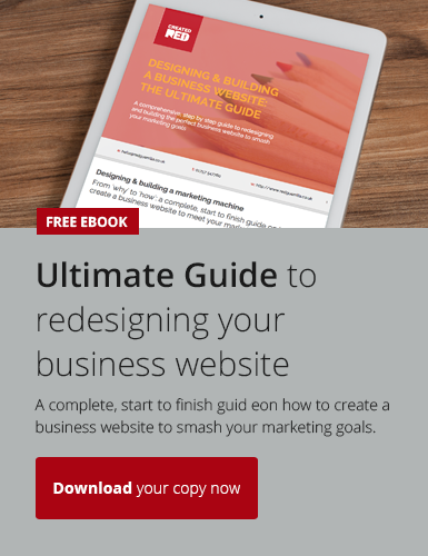 Download our free ebbok on how to design your business website to hit your marketing goals