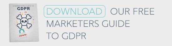GDPR for marketers ebook