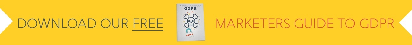 GDPR for marketers