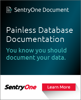 SentryOne Document Banner