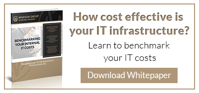 Benchmarking Internal IT Costs, The Windsor Group