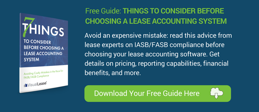 Lease Accounting System Considerations
